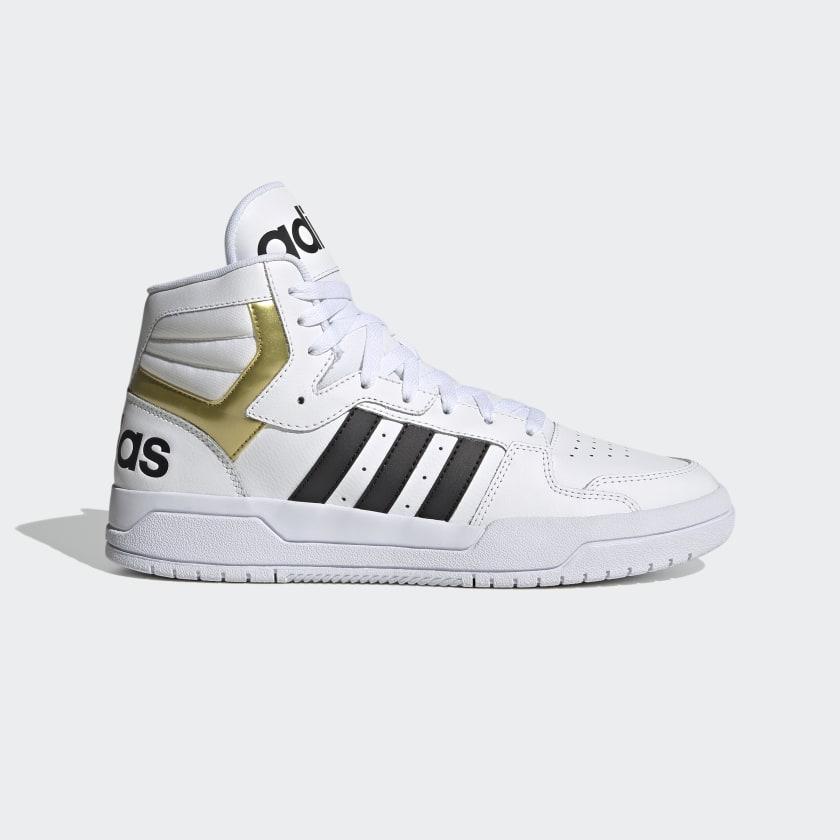 adidas Entrap Mid Shoes - White | adidas US