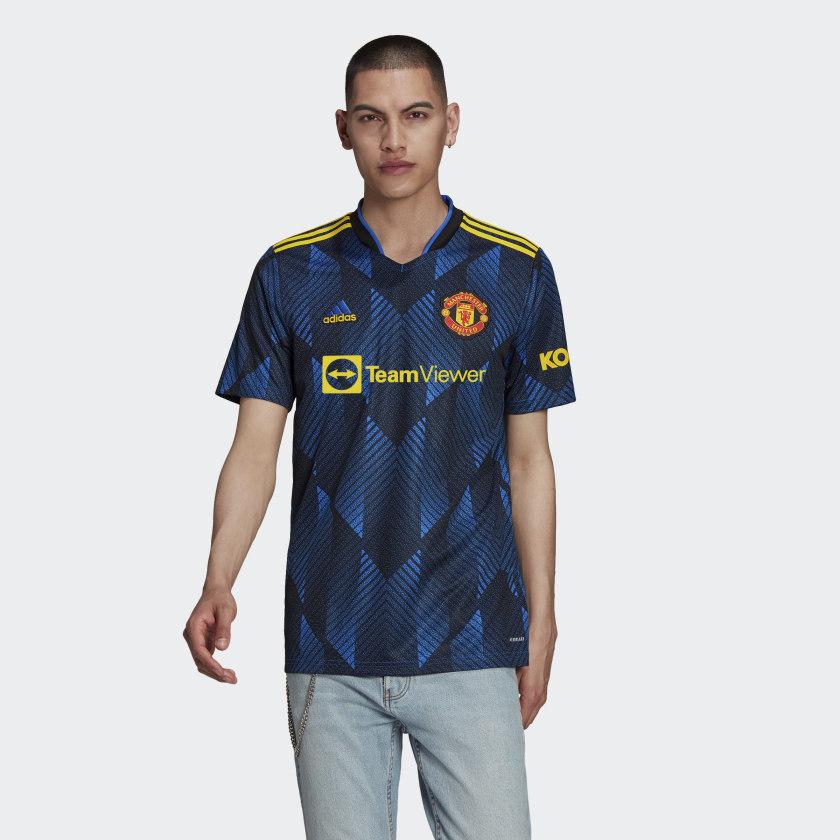 adidas Manchester United 21/22 Third Jersey - Blue | adidas US