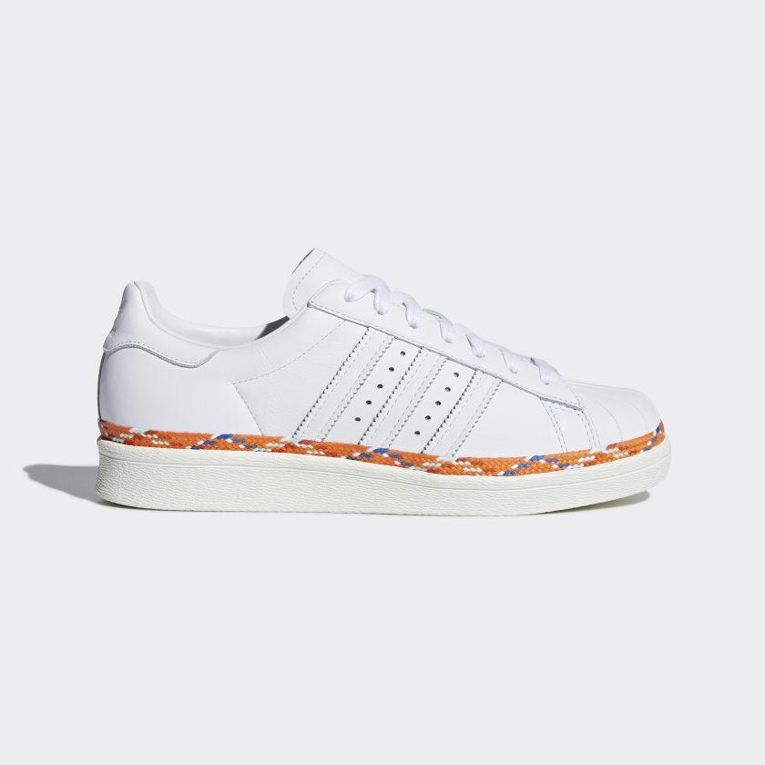 adidas Superstar 80s New Bold Shoes - White | adidas Turkey