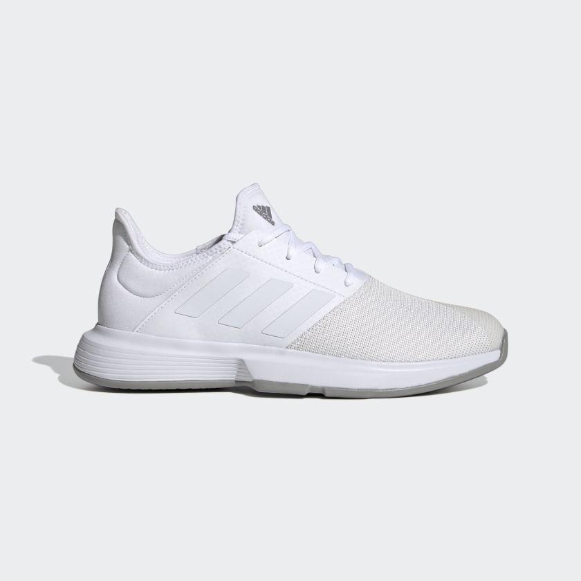adidas GameCourt Wide Shoes - White | adidas US