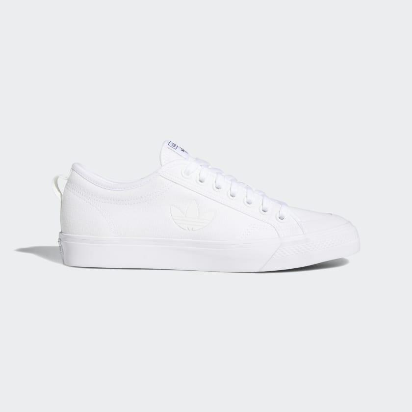 adidas Nizza Trefoil Shoes - White | adidas US