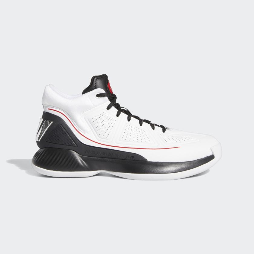 adidas D Rose 10 Shoes - White | adidas US