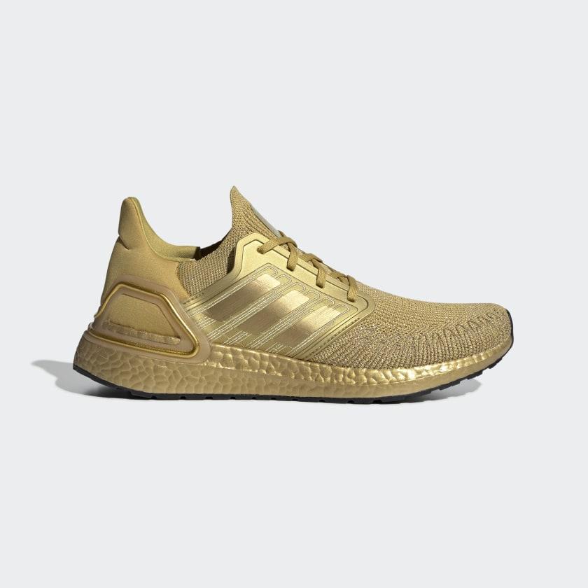 adidas Ultraboost 20 Shoes - Gold   adidas US