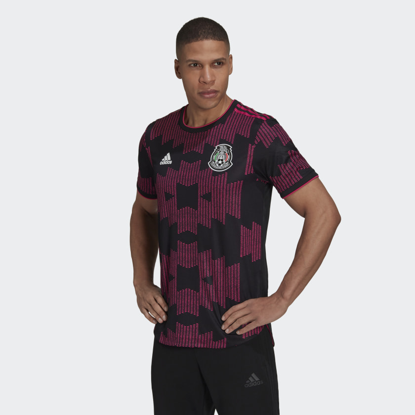 adidas Mexico Home Authentic Jersey - Black | adidas US