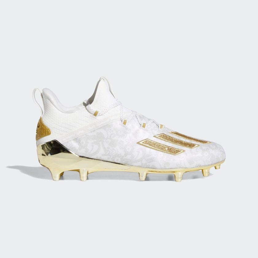 adidas Adizero New Reign Cleats - White | adidas US