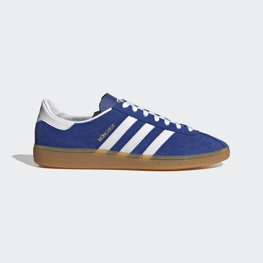 adidas München Shoes - Blue | adidas US