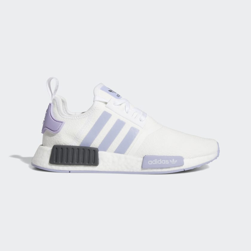 Women's NMD R1 White and Lavender Shoes | EF2356 | adidas US