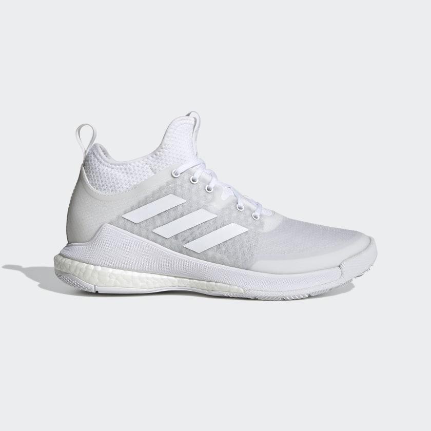 adidas Crazyflight Mid Volleyball Shoes - White | adidas US