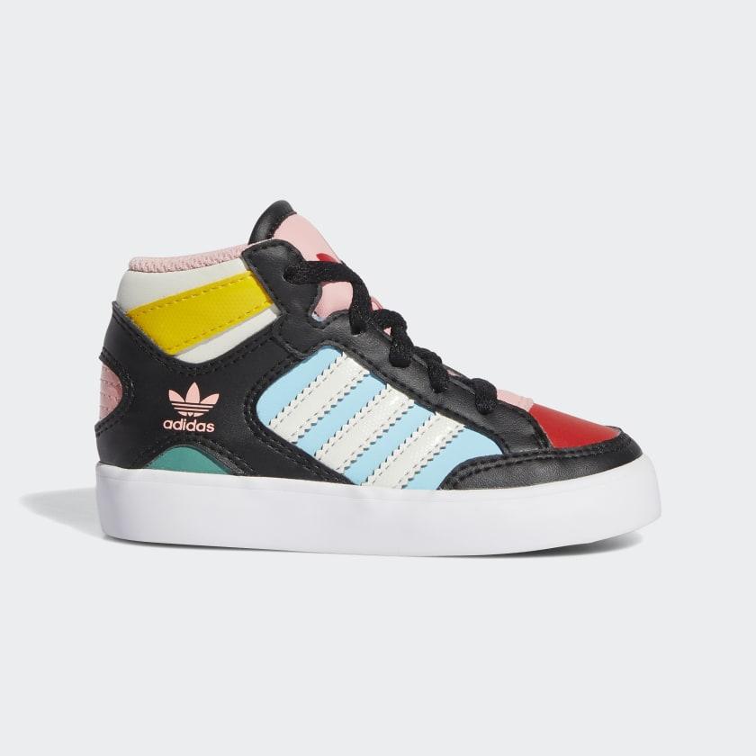 adidas Hardcourt Hi Shoes - Black   adidas US