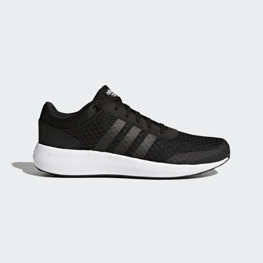 adidas Cloudfoam Race Shoes - Black | adidas US