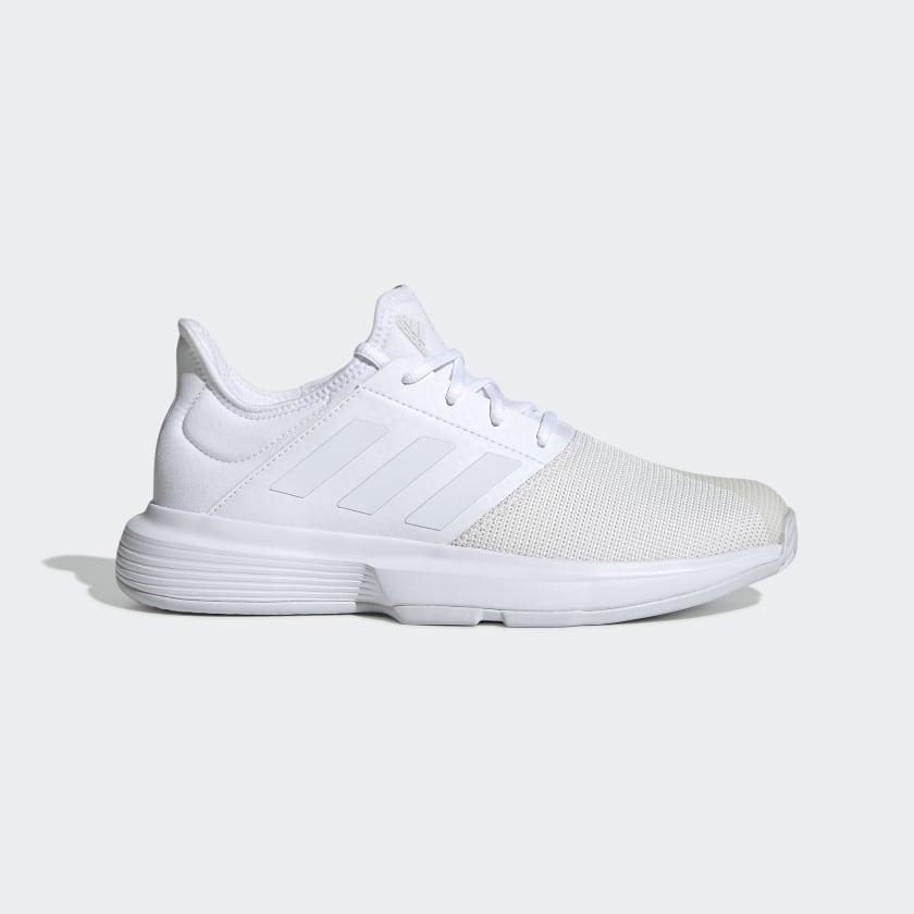 adidas GameCourt Shoes - White | adidas US