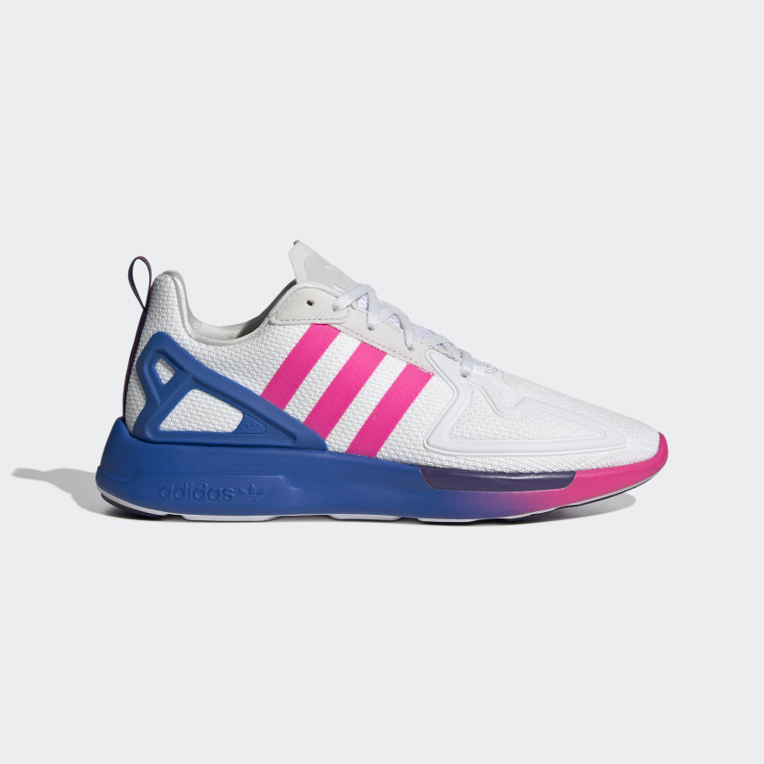 adidas ZX 2K Flux Shoes - White   adidas US