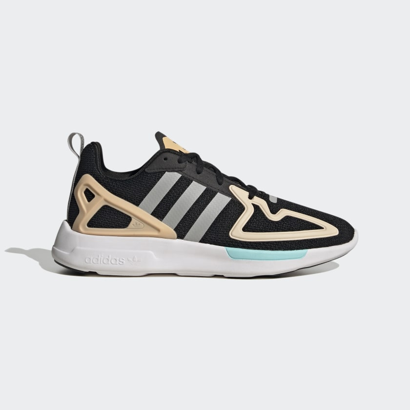 adidas ZX 2K Flux Shoes - Black | adidas US