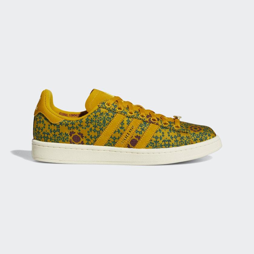 adidas Yara Campus Shoes - Gold | adidas US