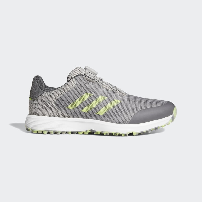 adidas S2G BOA Spikeless Golf Shoes - Grey | adidas US