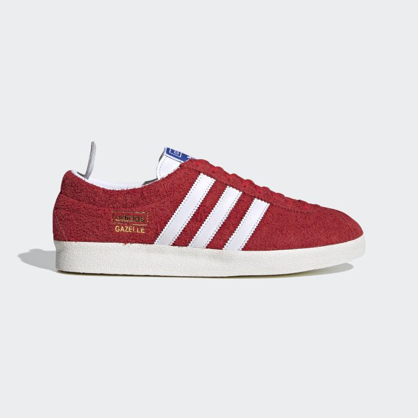 adidas Gazelle Vintage Shoes - Red | adidas US