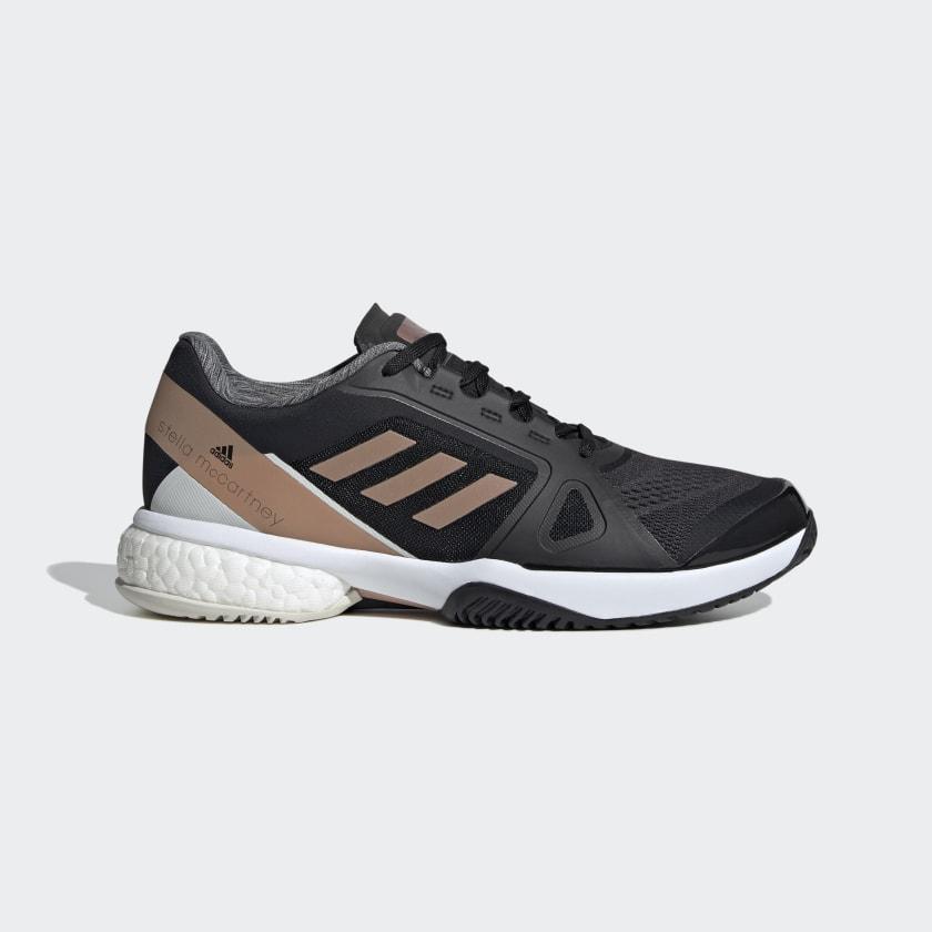 adidas by Stella McCartney Barricade Boost Shoes - Black | adidas US