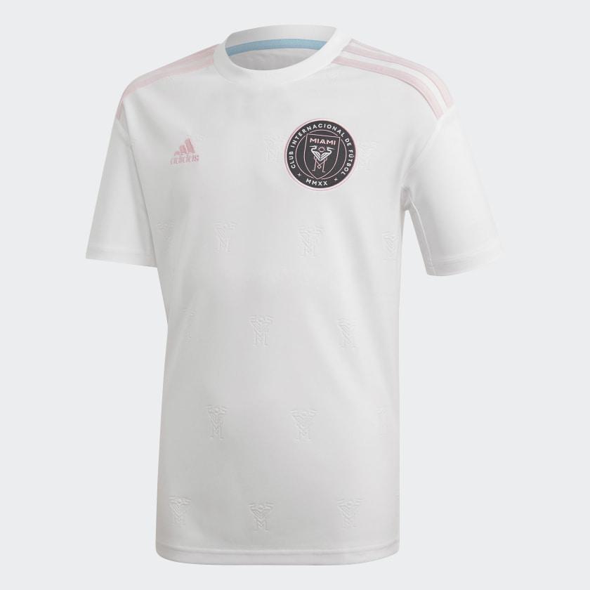 adidas Inter Miami CF Beckham Home Jersey - White | adidas US