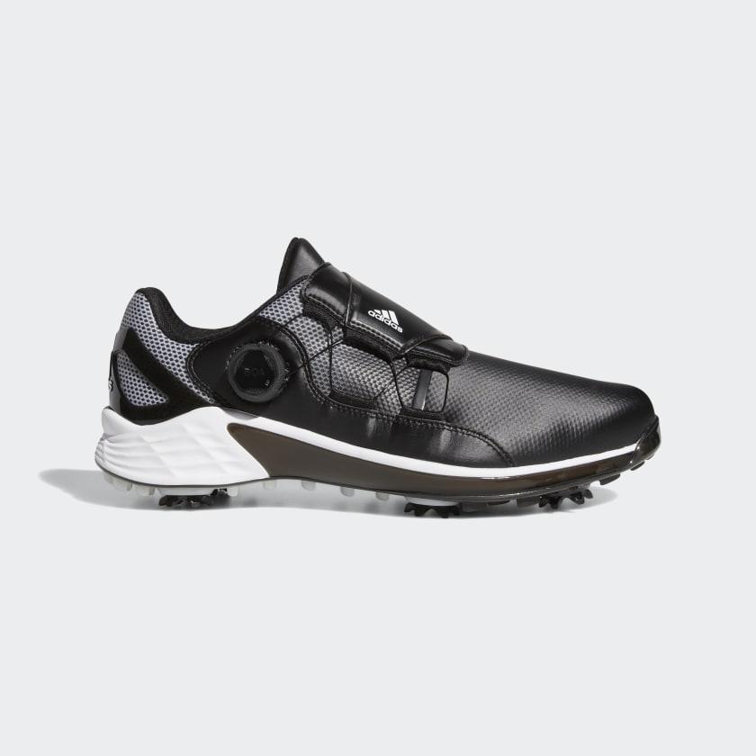 adidas ZG21 BOA Golf Shoes - Black | adidas US
