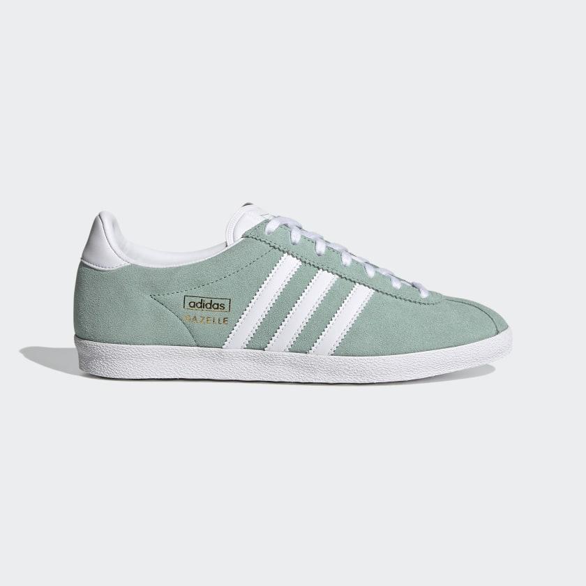 adidas Gazelle OG Shoes - Green | adidas US