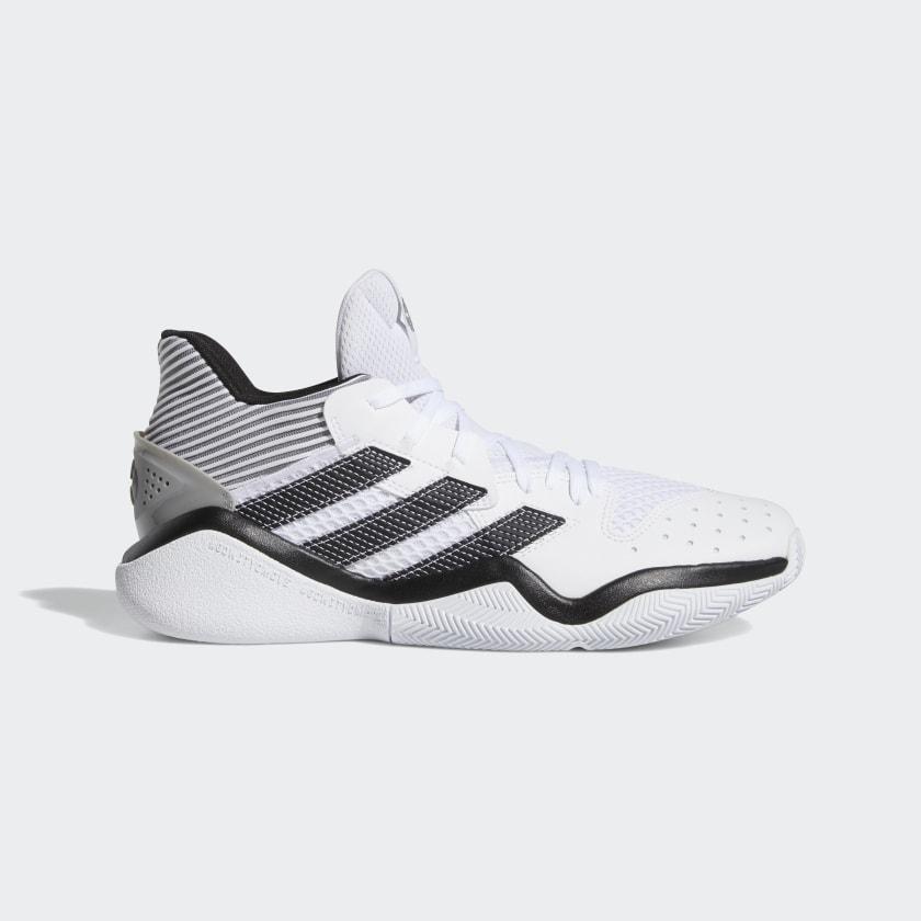 adidas Harden Stepback Shoes - White   adidas US