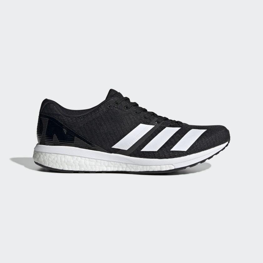adidas Adizero Boston 8 Shoes - Black | adidas US