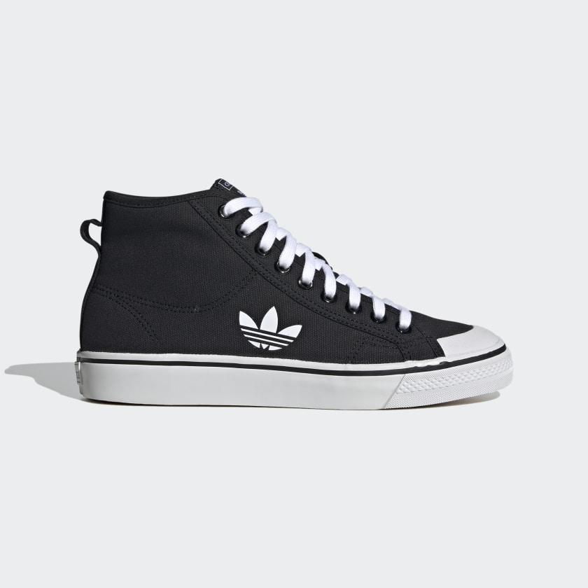 adidas Nizza Hi Shoes - Black   adidas US