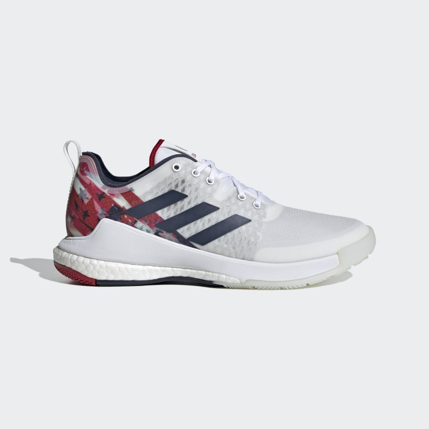 adidas Crazyflight USAV Shoes - White   adidas US