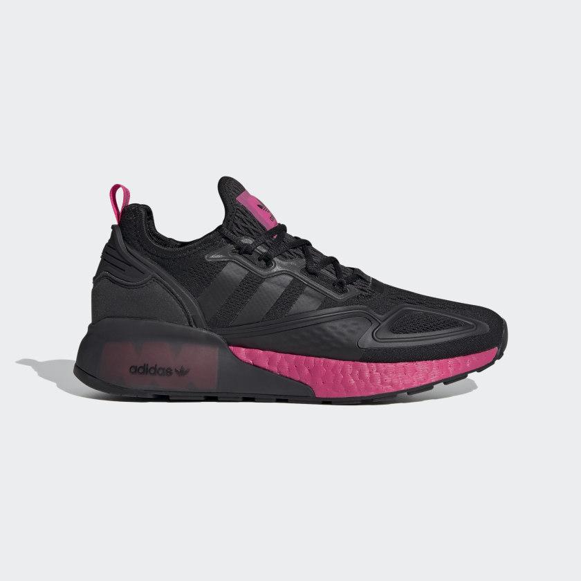 adidas ZX 2K Boost Shoes - Black   adidas US