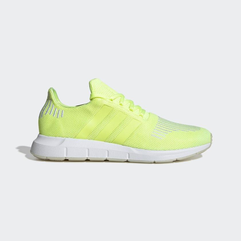 adidas Swift Run Shoes - Yellow | adidas US
