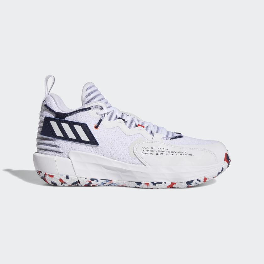 adidas Dame 7 EXTPLY Shoes - White | adidas US