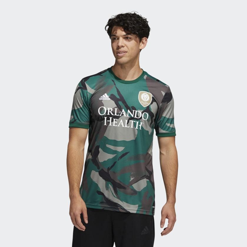adidas Orlando City Camo Pre-Match Jersey - Multi | adidas US