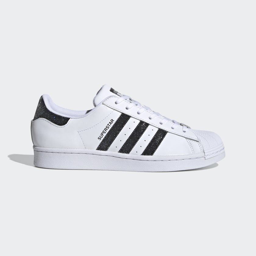 adidas Superstar Shoes with Swarovski® crystals - White | adidas US