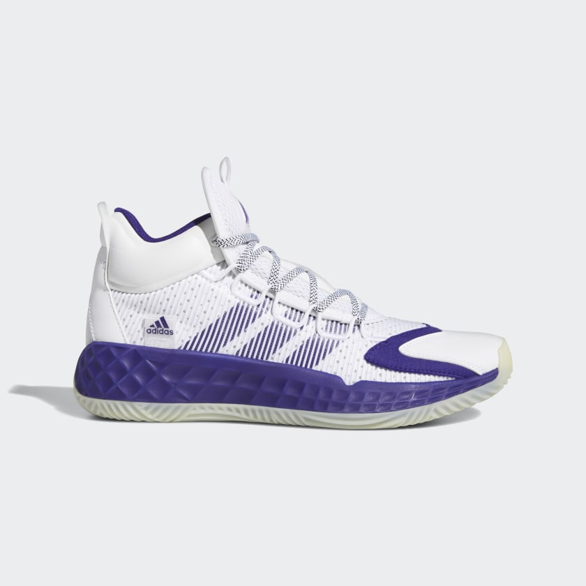 adidas Pro Boost Mid Shoes - White | adidas US