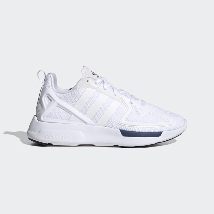 adidas ZX 2K Flux Shoes - Grey   adidas US