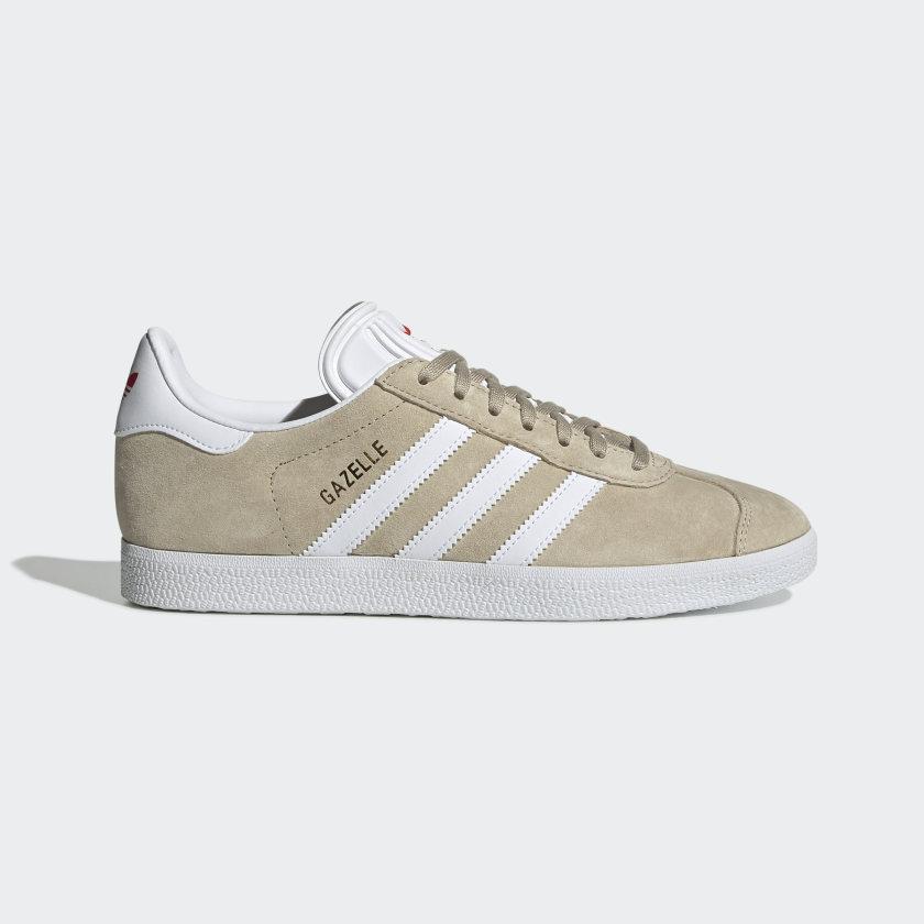 adidas Gazelle Shoes - Beige | adidas US