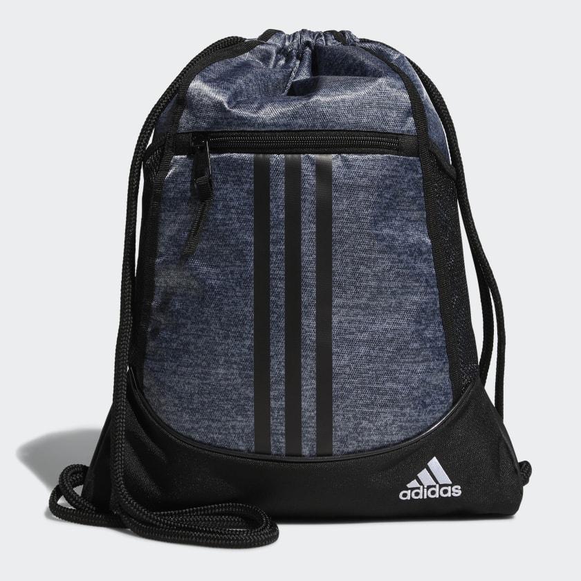 adidas Alliance Sackpack - Grey | adidas US
