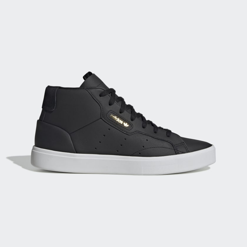 adidas Sleek Mid Shoes - Black | adidas US