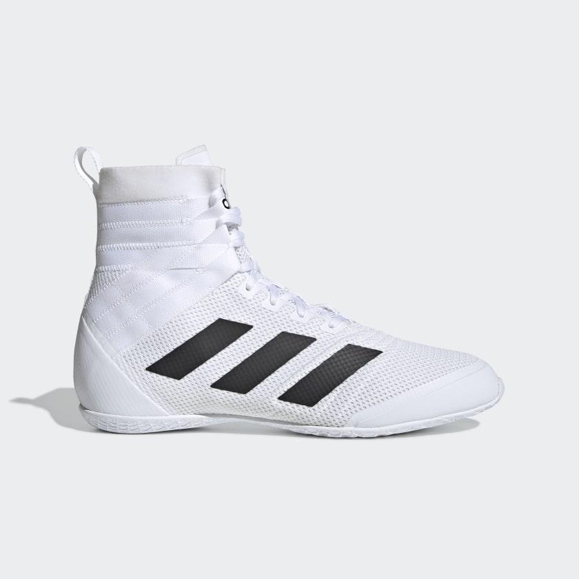 adidas Speedex 18 Boxing Shoes - White   adidas US