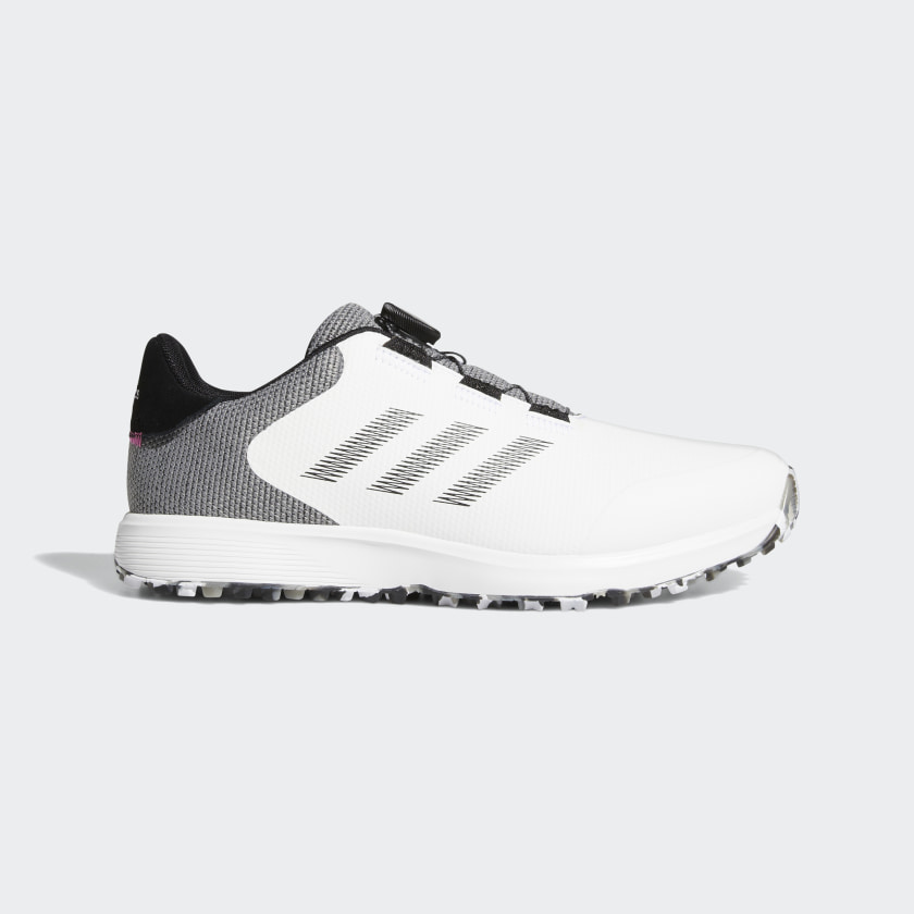 adidas S2G BOA Spikeless Golf Shoes - White | adidas US