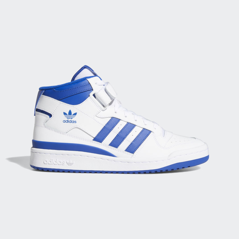 adidas Forum Mid Shoes - White   adidas US