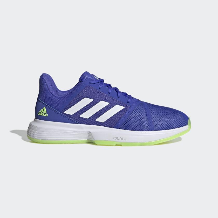 adidas CourtJam Bounce Shoes - Blue   adidas US