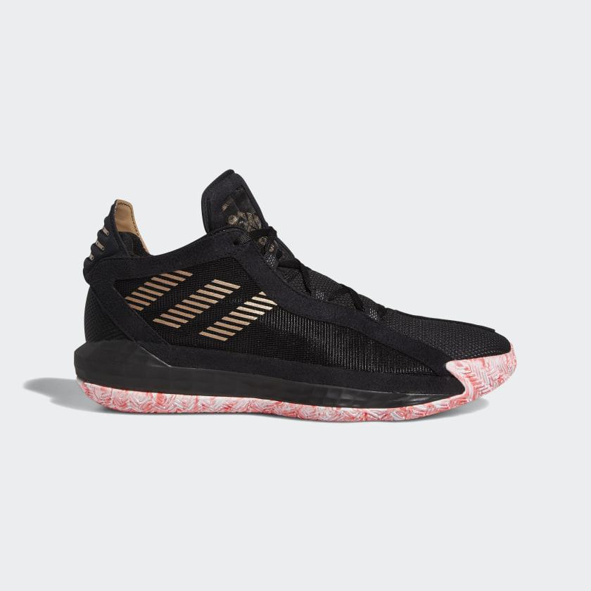 adidas Dame 6 Shoes - Black   adidas US