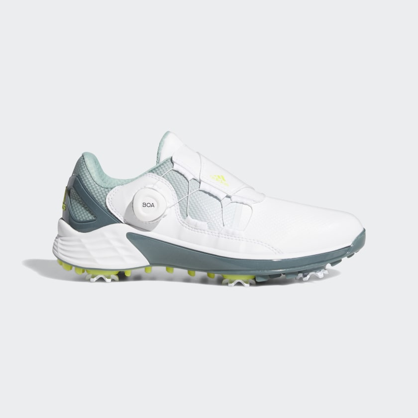 adidas ZG21 BOA Golf Shoes - White | adidas US