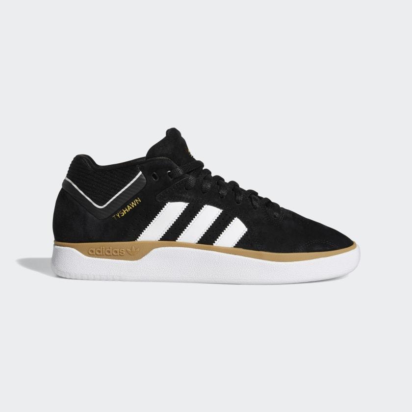 adidas Tyshawn Shoes - Black | adidas US