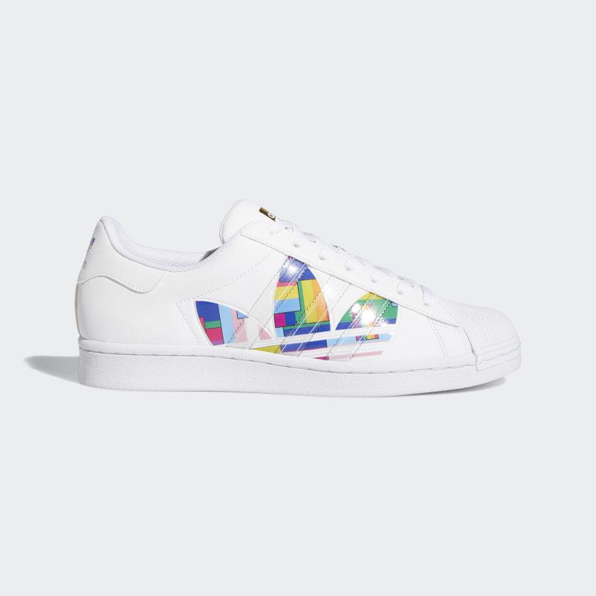adidas Superstar Pride Shoes - White | adidas US