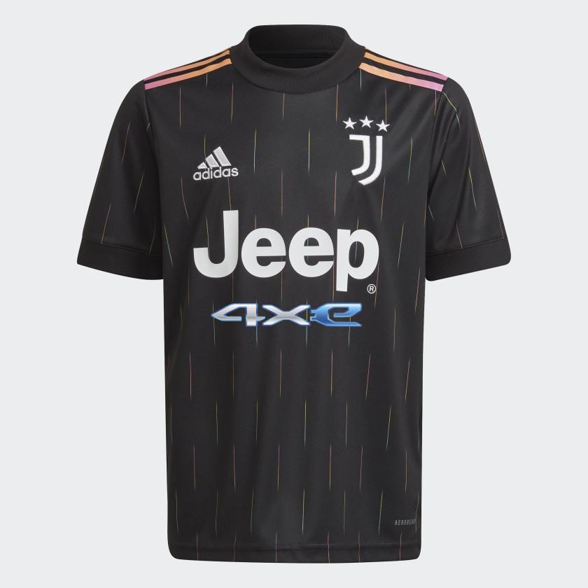 adidas Juventus 21/22 Away Jersey - Black | adidas US