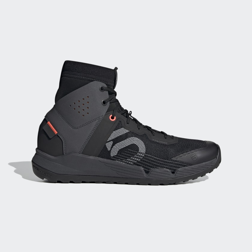 adidas Five Ten Trail Cross Mid Pro Mountain Bike Shoes - Black | adidas US