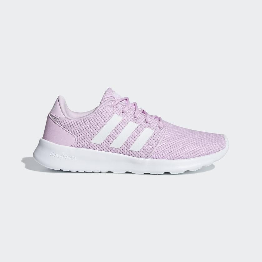 adidas Cloudfoam QT Racer Shoes - Pink   adidas US