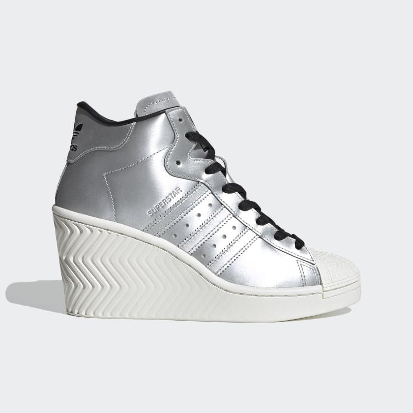 adidas Superstar Ellure Shoes - Silver | adidas US